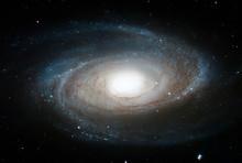 Bode's Galaxy, M81, Spiral Galaxy In The Constellation Ursa Major.