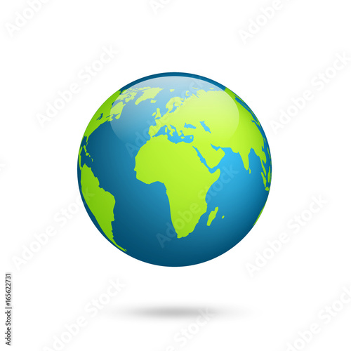 Earth globe world map set planet with continentsrica asia world map set planet with continentsrica asia australia gumiabroncs Images