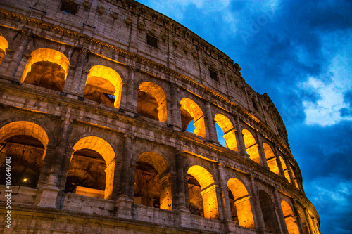 Coliseum In Rome Canvas Print