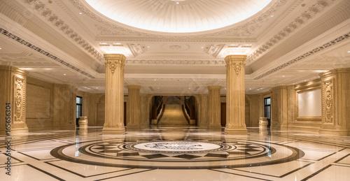 Fotografia  Corridor in luxury hotel,empty space.