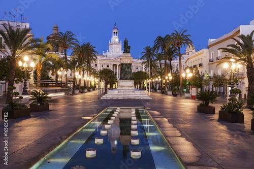 City on the water Cadiz City Hall on Plaza San Juan de Dios