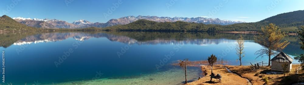 Fototapety, obrazy: View of Rara Daha or Mahendra Tal Lake