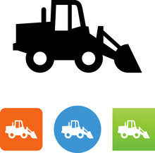 Front End Loader Icon - Illust...