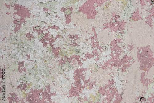 Vászonkép Organic background paint texture cracking and pealing fabulous design possibilit