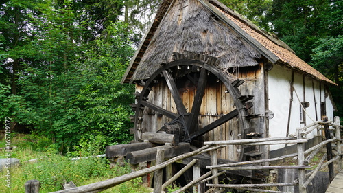 An old watermill at Domain Bokrijk in Belgium.