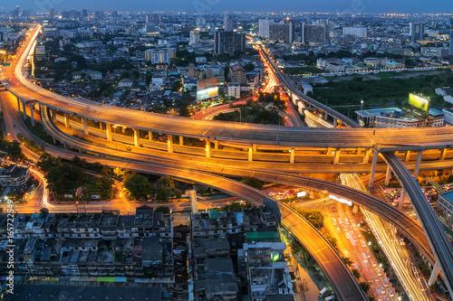 Bangkok expressway. Wallpaper Mural