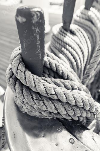 détails de vieux gréement © Image'in
