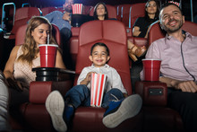 Little Boy In The Movies With ...