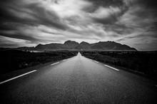 Une Route En Norvège