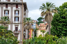 Typical Buildings Of La Spezia  And Morin