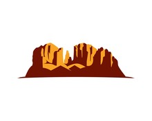 Sedona Red Rock Silhouette