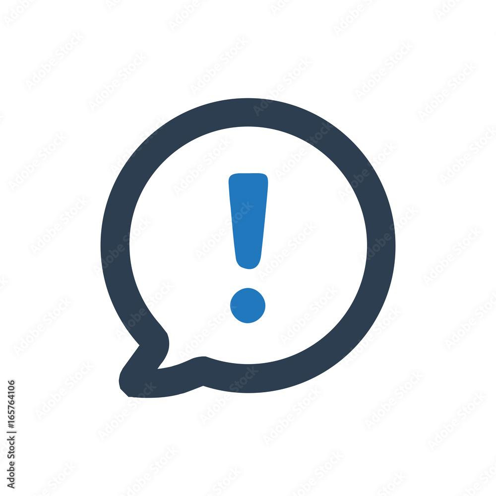 Fototapety, obrazy:  Notification Icon
