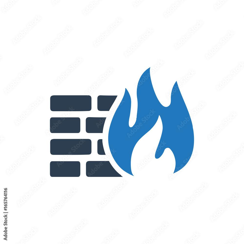 Fototapeta Firewall Icon