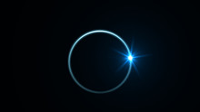 Abstract Ring Background With ...