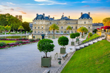 Palace And Park Versailles Complex, Historical Residence Of The French Kings
