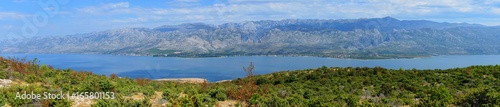 Panorama of Velebit mountains Wallpaper Mural