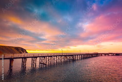 Tuinposter Baksteen Rapid bay jetty, South Australia