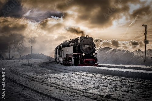 Zdjęcie XXL pociąg żywiczny