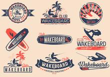 Vintage Vector Set Of Logos Fo...