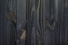 Black Wood Texture For Backgro...
