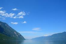 Teletskoe Lake. Altai Mountain...