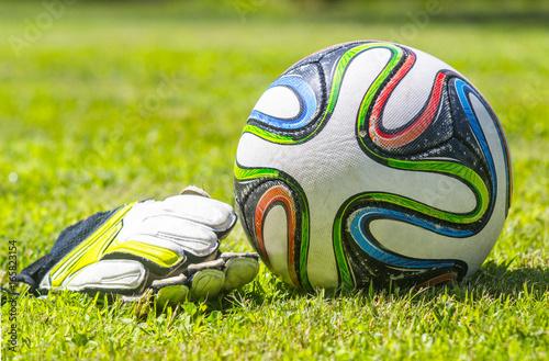 pallone da calcio Canvas Print