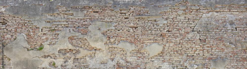 Fototapeta alte Ziegelmauer