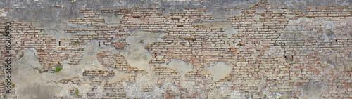 Photo alte Ziegelmauer