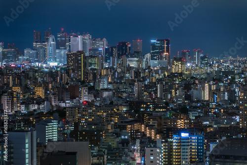 Plakat Nocny widok Tokio Nocny widok Tokio 1