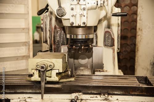 Papiers peints Retro Milling Machine.