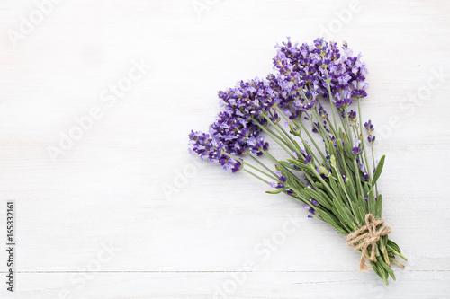 Foto op Canvas Lavendel Lavender flowers.