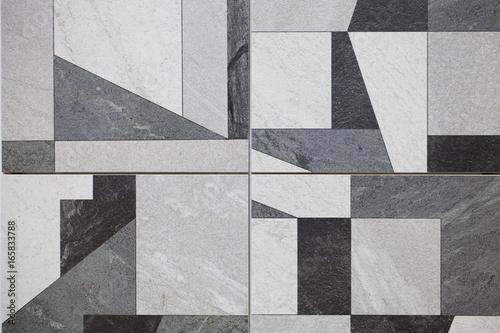 Spoed Fotobehang Geometrisch Modern tile background