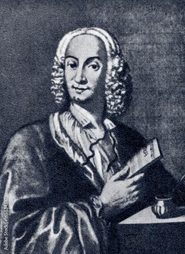 Fotomural  Antonio Vivaldi (1678-1741), italian composer and virtuoso violinist (François M