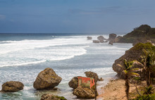 Bathsheba Rock, View To The Be...