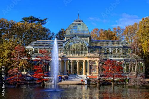 In de dag Madrid Palacio de cristal