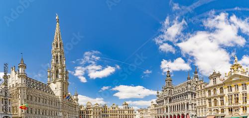 Poster Brussel Bruxelles in Belgium
