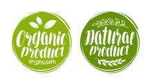 Organic, Natural Product Logo ...