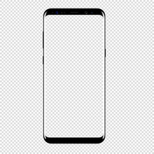 Smart Phone Vector Drawing Iso...