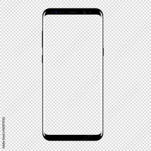 Photo smart phone vector drawing isolated transparent background