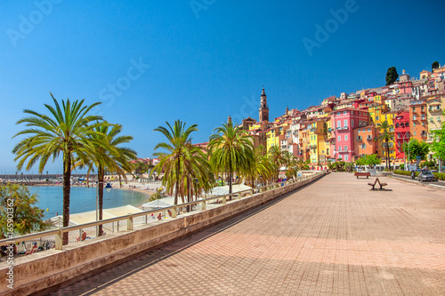 Photo sur Toile Nice Menton, France