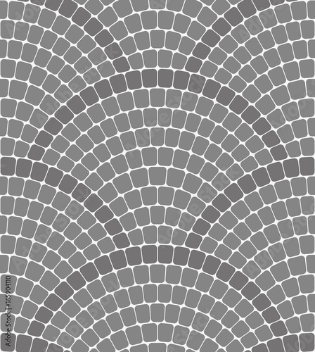 Cobblestone Pavement Seamless vector pattern Canvas Print