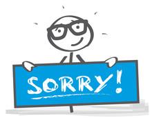 Entschuldigen - Fehler Eingest...