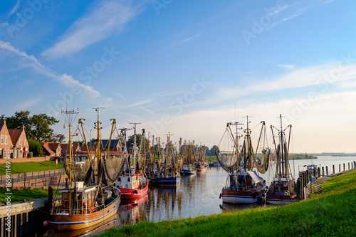 Photo Stands Port Kutterhafen von Greetsiel