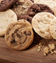 Group Of Assorted Cookies.