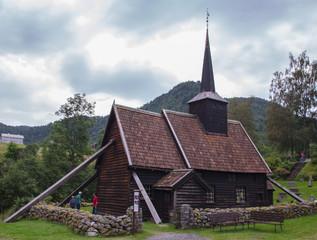 Fototapeta na wymiar Rødven Stave church.