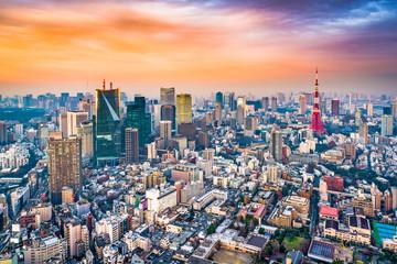 FototapetaTokyo Japan Skyline