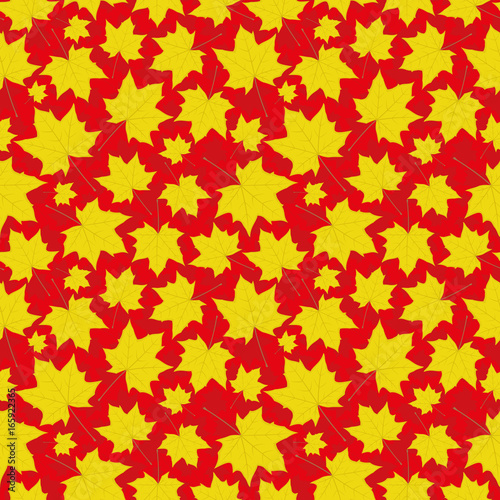 seamless-background-with-maple-leaves