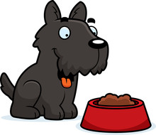 Cartoon Scottie Food