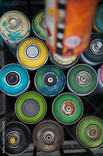 Photo  Graffiti Street Art Spray Paint
