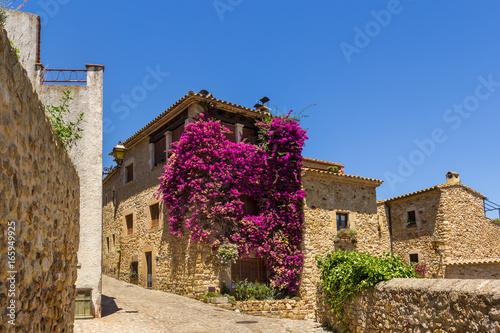 Fototapeta Pals medieval town in Catalonia, Spain